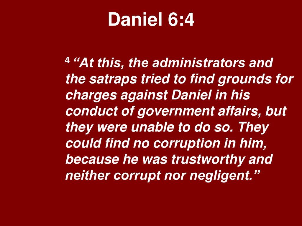 Daniel 6:4