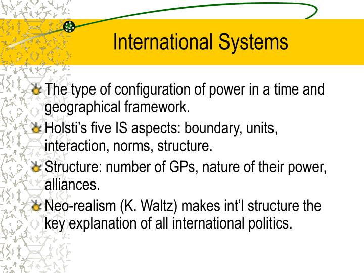 International Systems