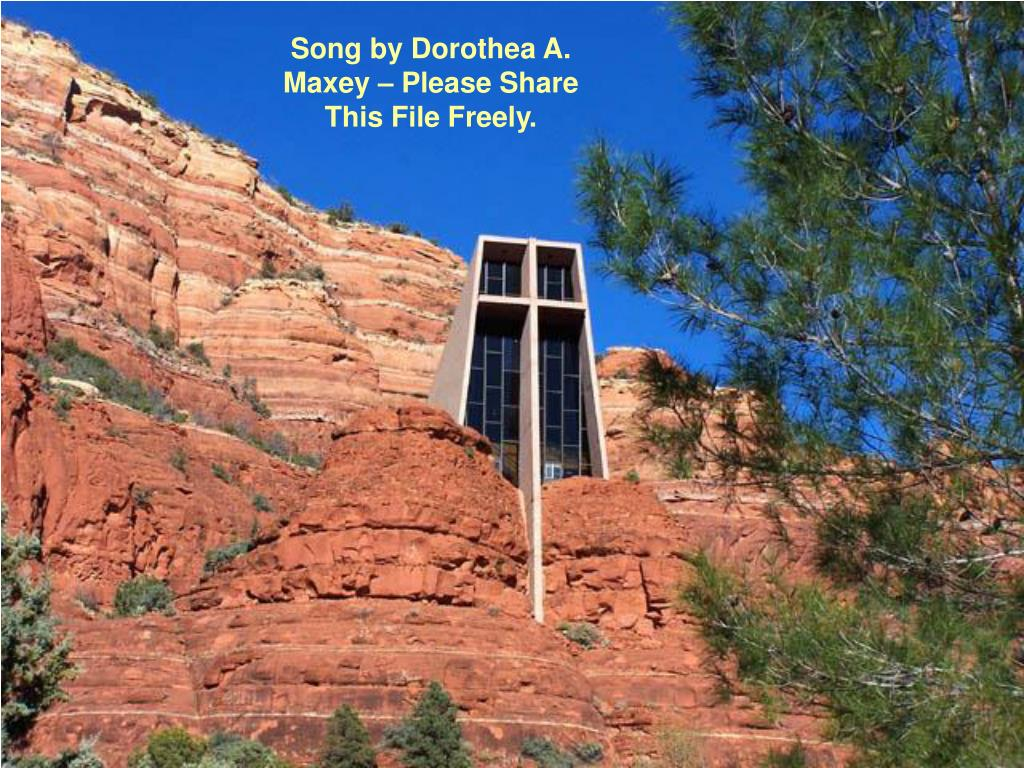 Song by Dorothea A. Maxey – Please Share This File Freely.