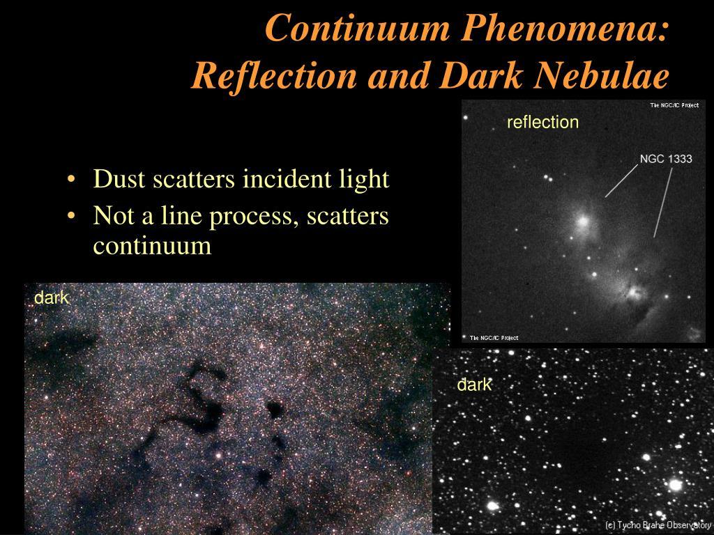 Continuum Phenomena: