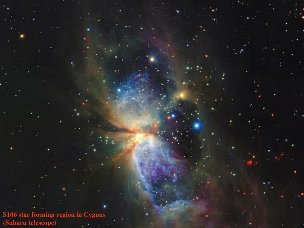 S106 star forming region in Cygnus