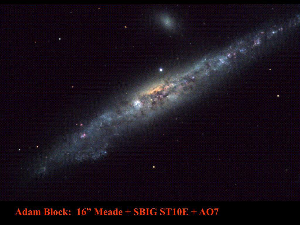 """Adam Block:  16"""" Meade + SBIG ST10E + AO7"""