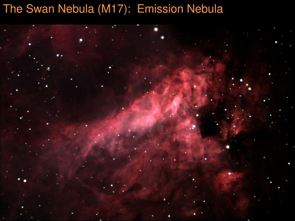 The Swan Nebula (M17):  Emission Nebula