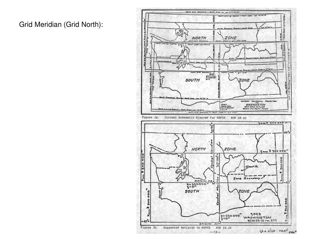 Grid Meridian (Grid North):
