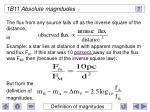 1b11 absolute magnitudes23