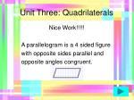unit three quadrilaterals41