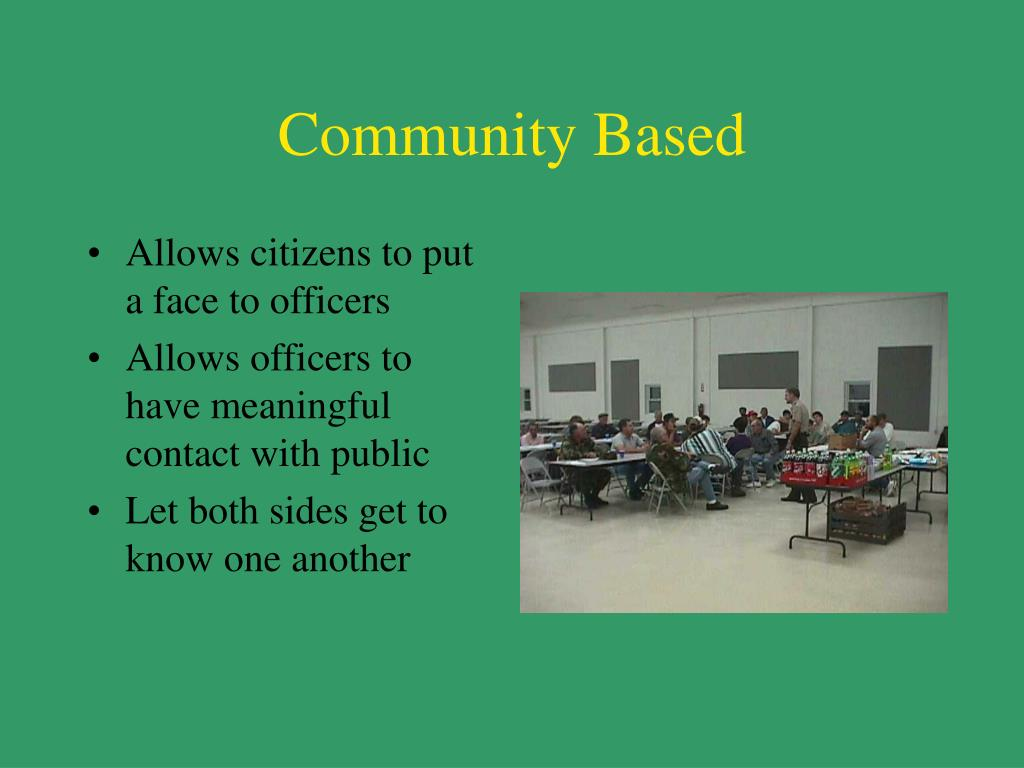 Community Based