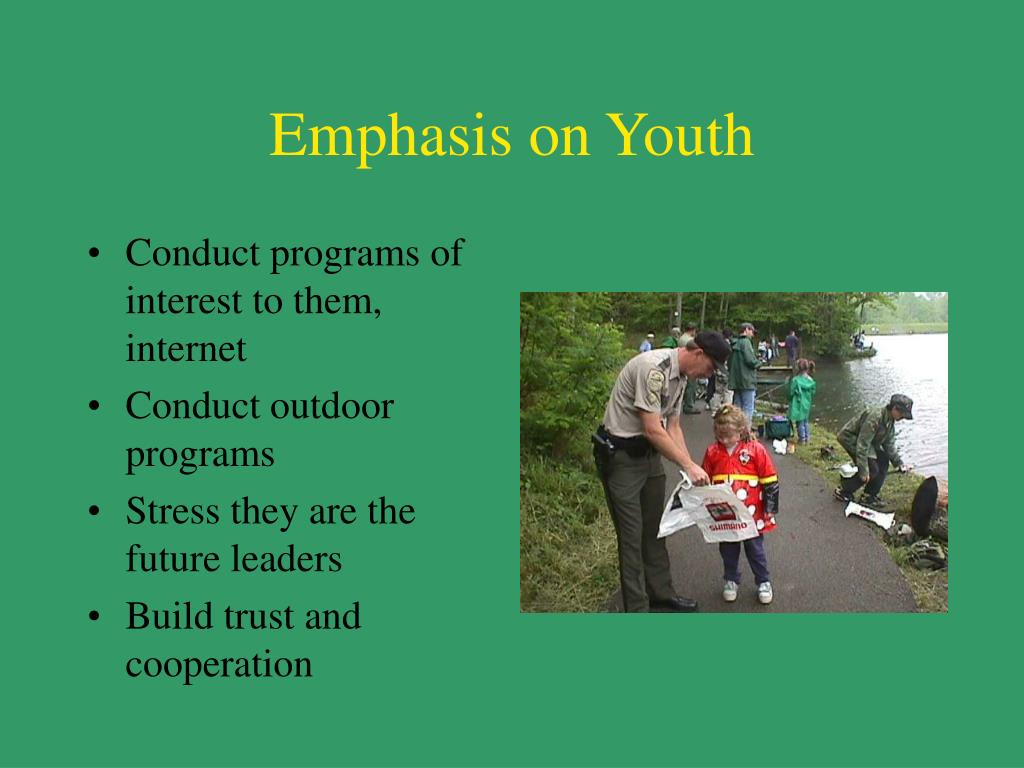 Emphasis on Youth