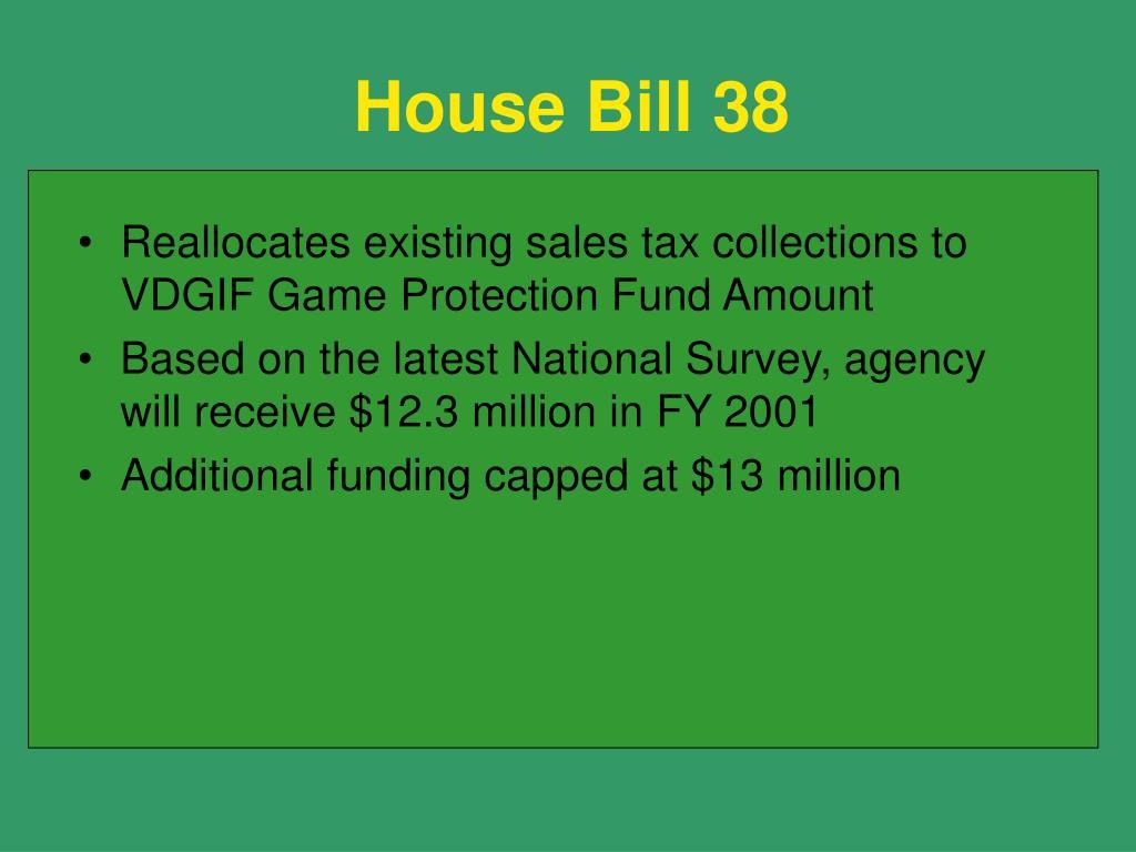 House Bill 38