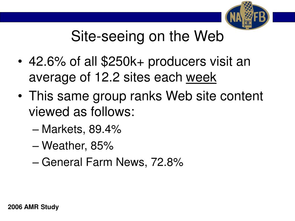 Site-seeing on the Web