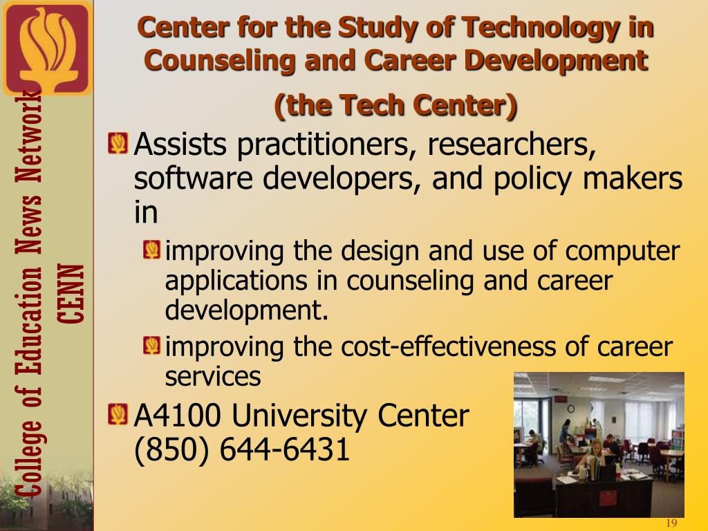 Center for the Study of Technology in Counseling and Career Development