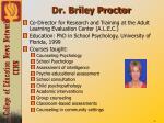 dr briley proctor