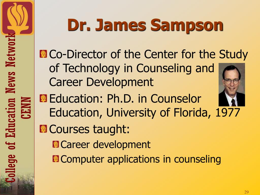 Dr. James Sampson