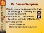 dr james sampson