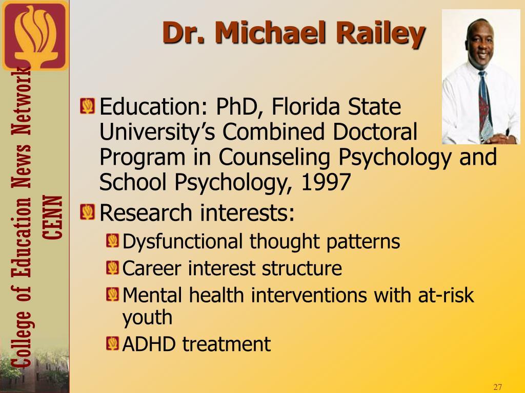 Dr. Michael Railey
