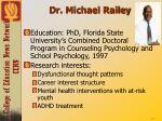 dr michael railey
