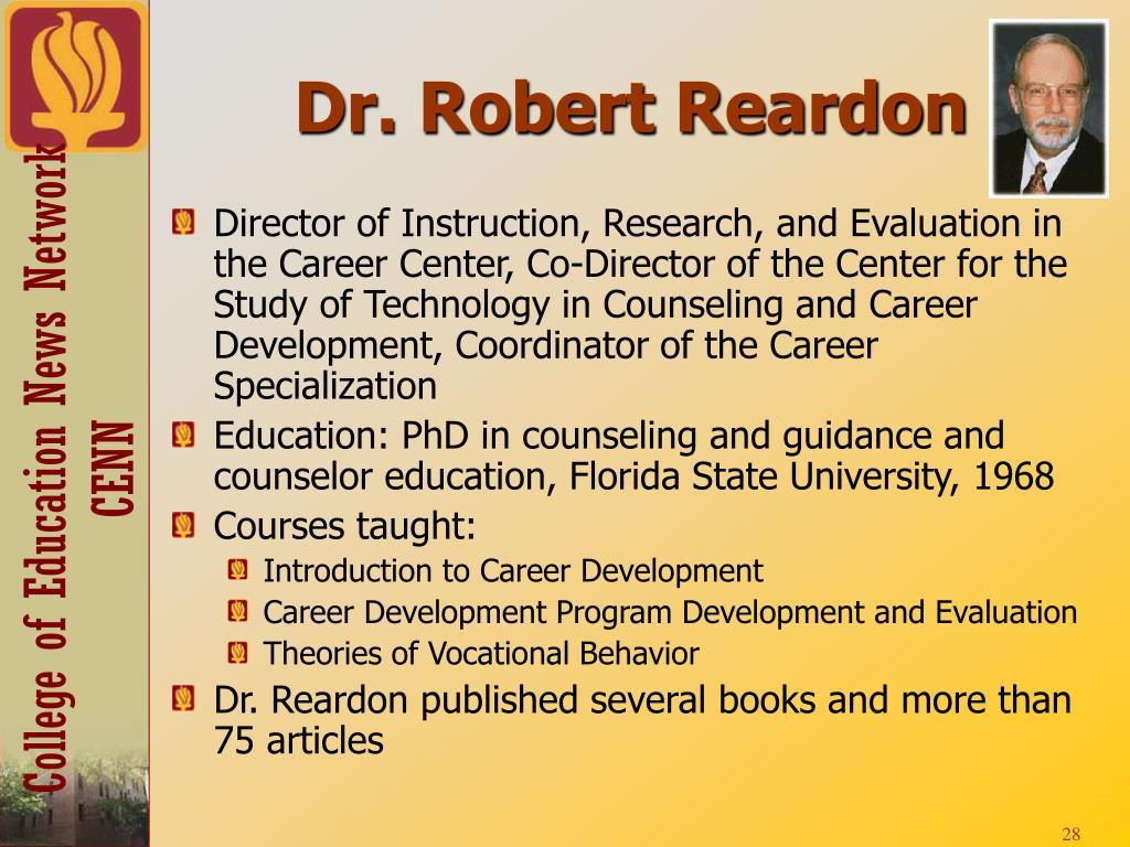 Dr. Robert Reardon