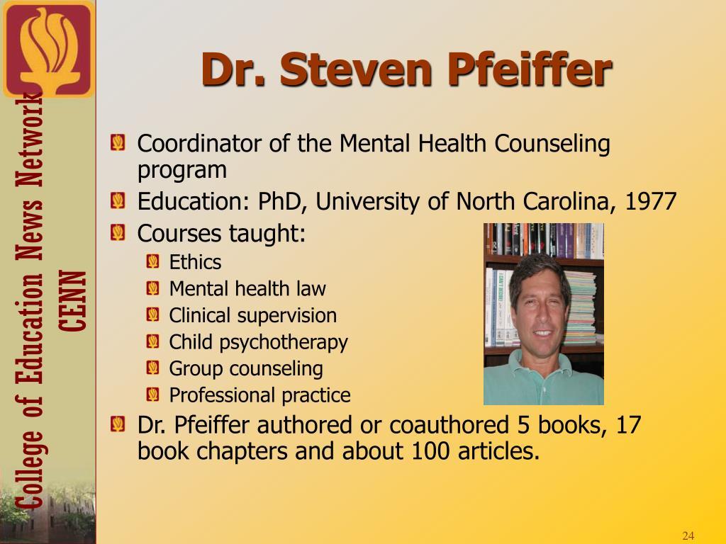 Dr. Steven Pfeiffer