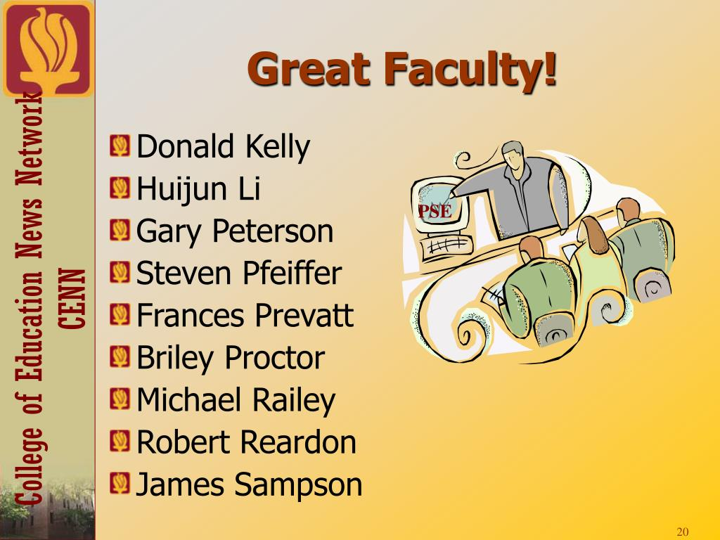 Great Faculty!