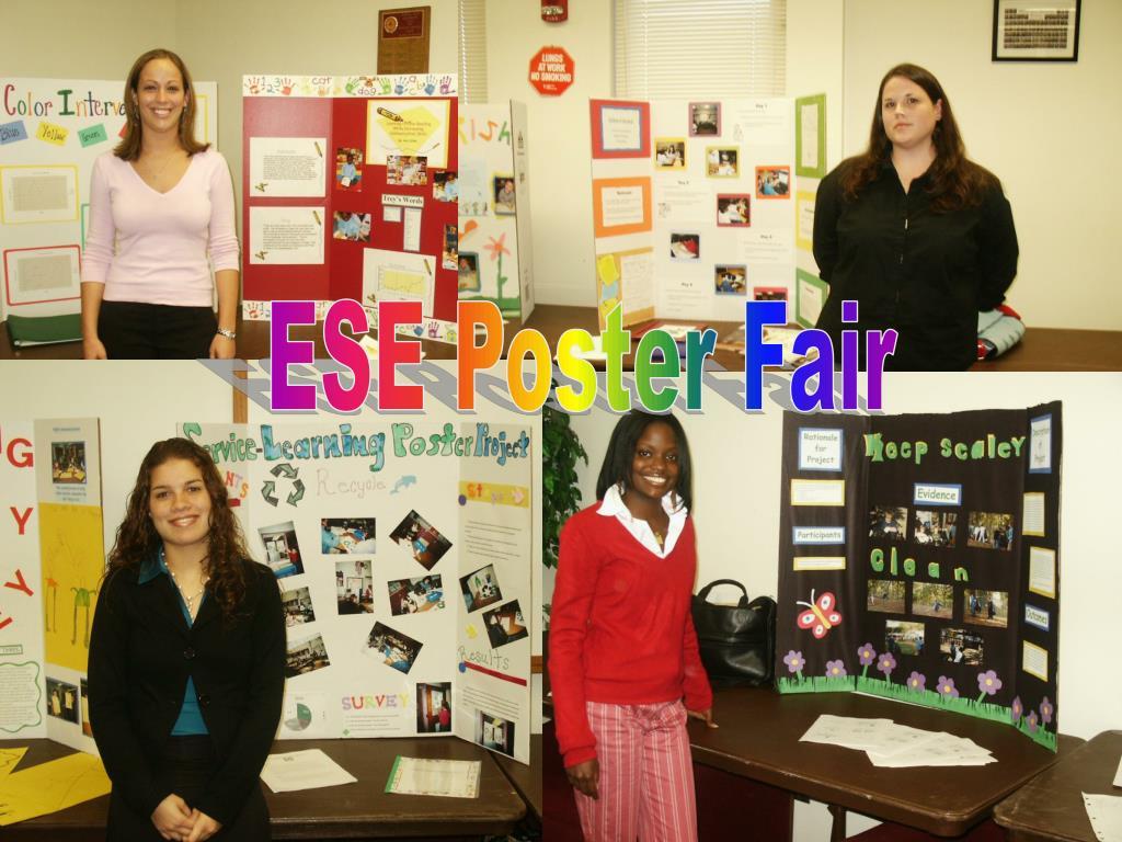 ESE Poster Fair