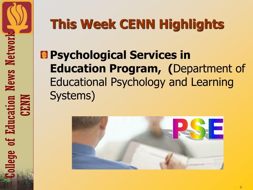 This Week CENN Highlights