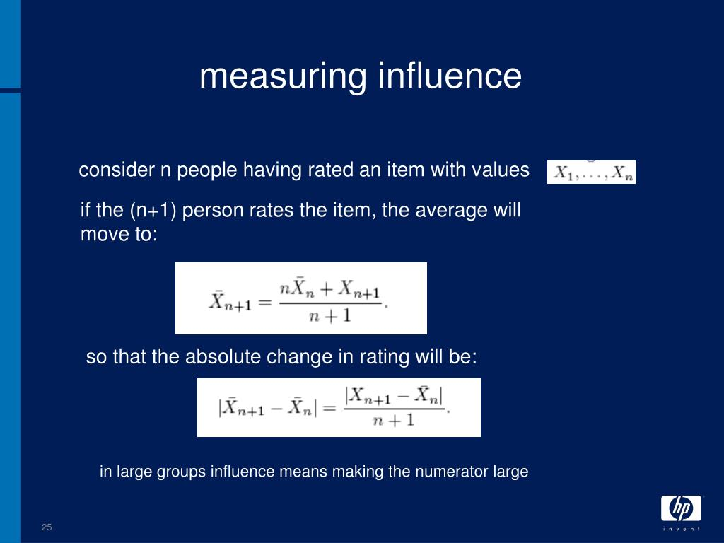 measuring influence