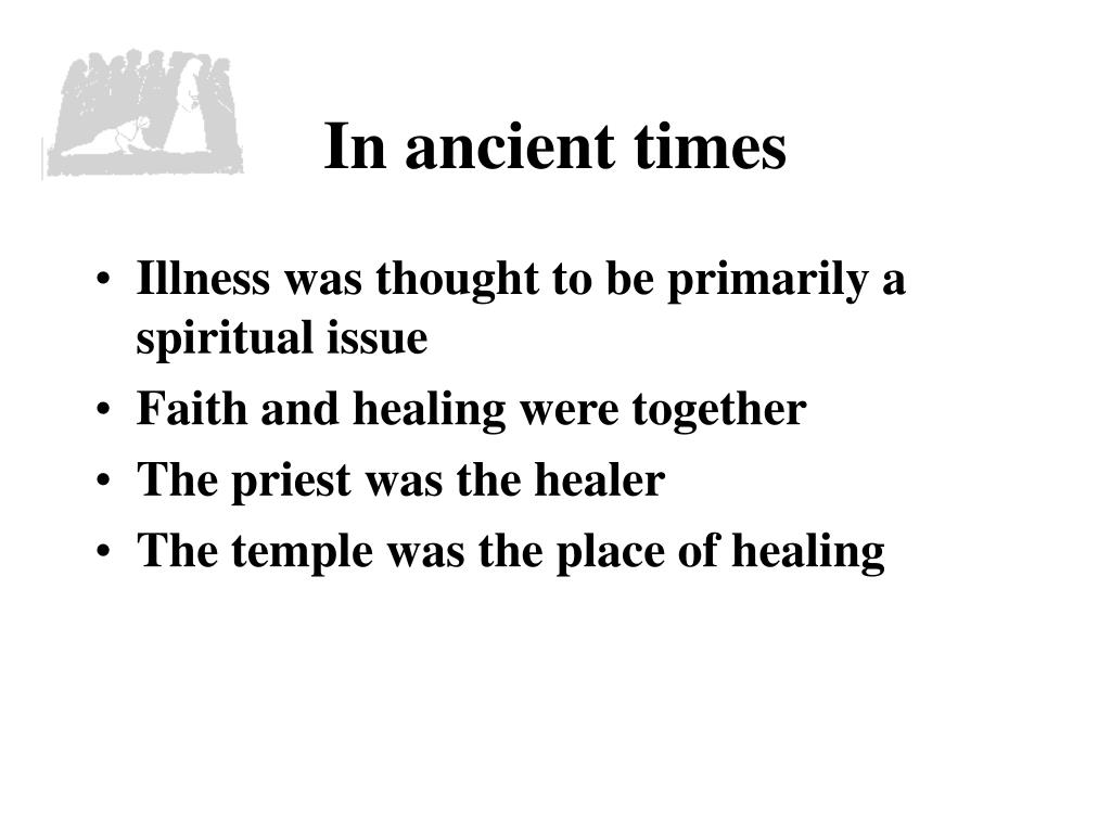In ancient times