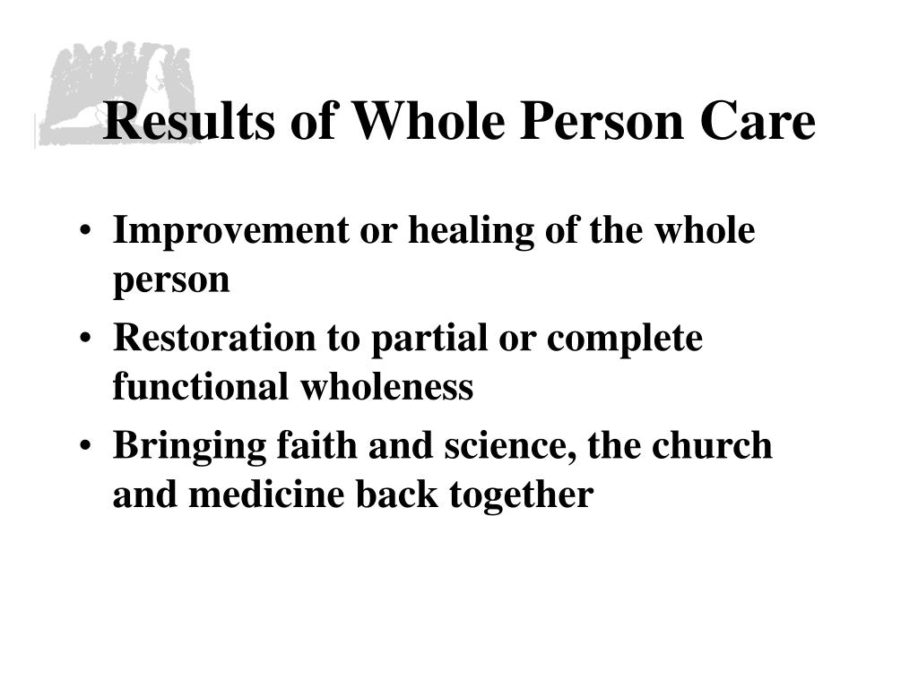 Results of Whole Person Care