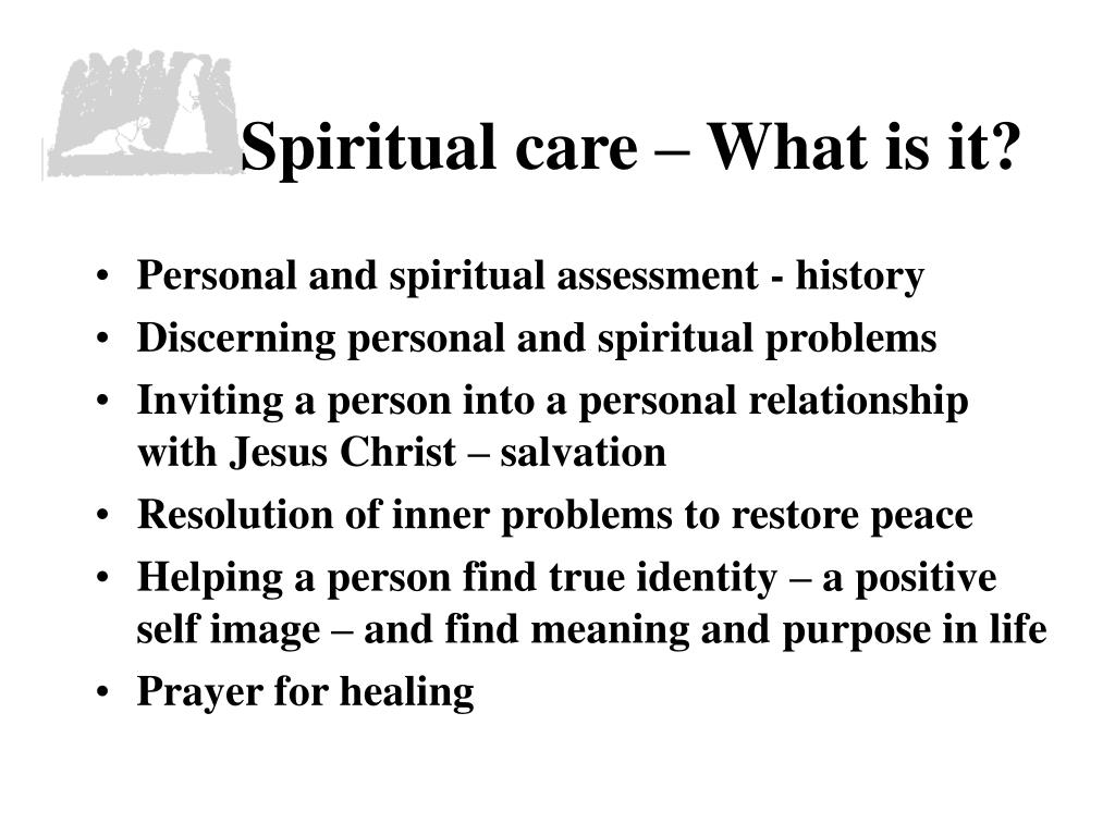 Spiritual care – What is it?