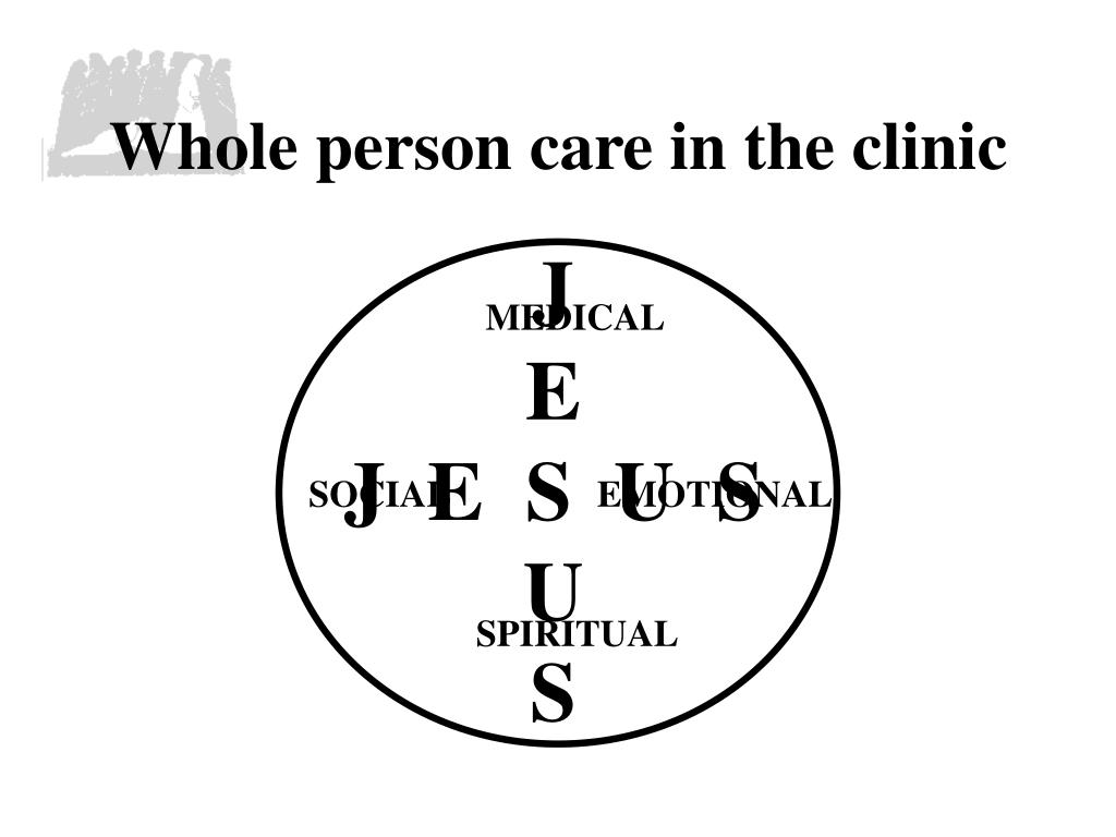 Whole person care in the clinic