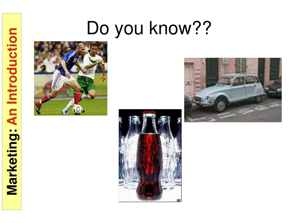 Do you know??