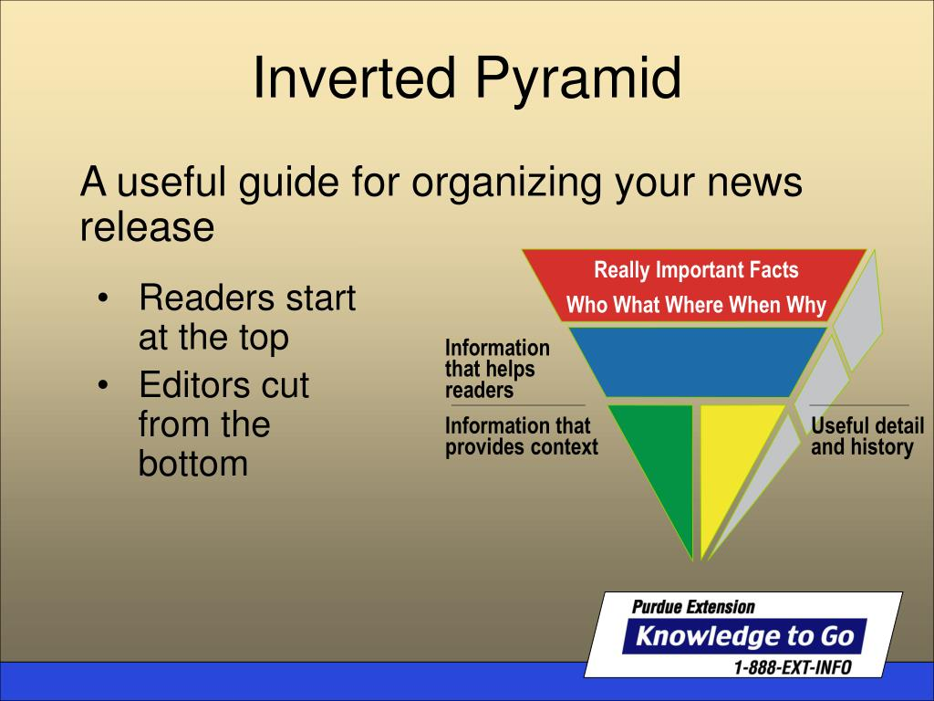 A useful guide for organizing your news release