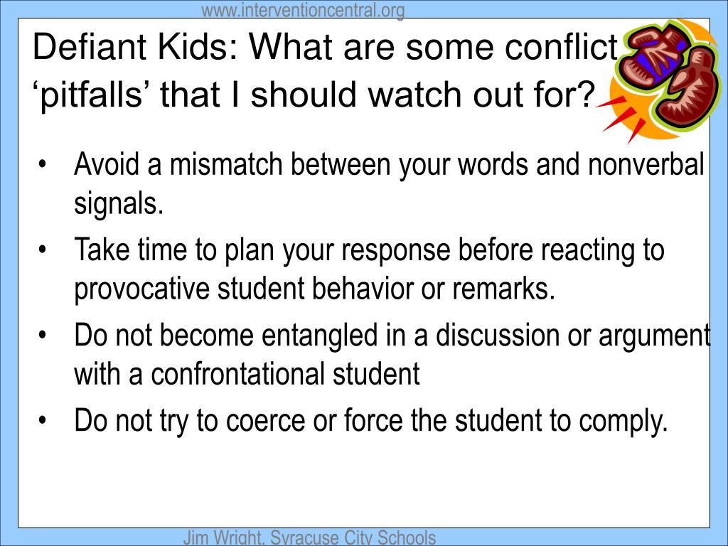 Defiant Kids: