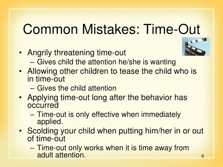 Common Mistakes: Time-Out