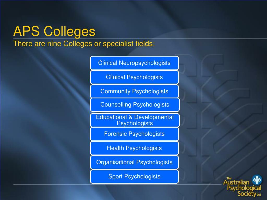 APS Colleges