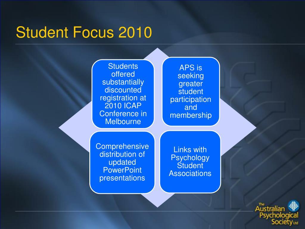 Student Focus 2010
