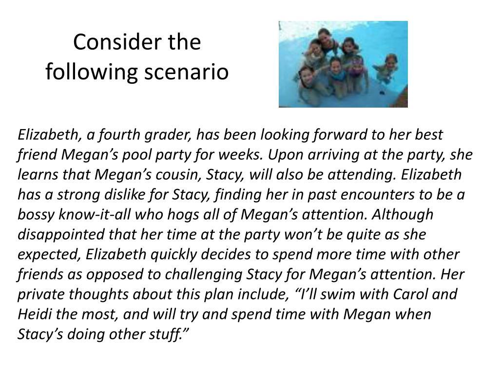 Consider the following scenario
