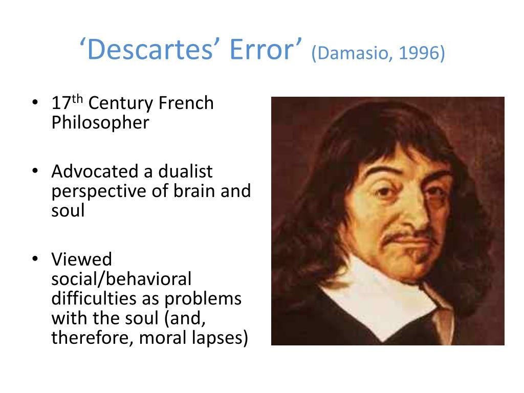 'Descartes' Error'