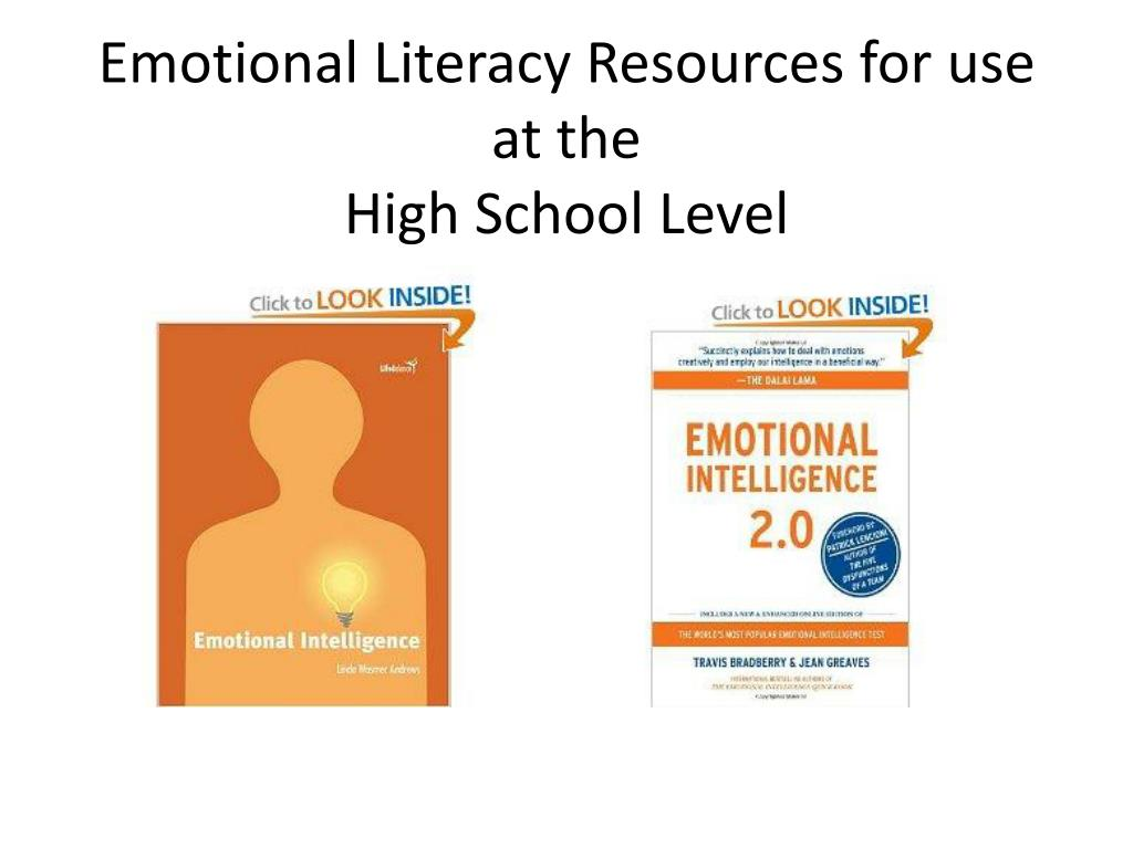 Emotional Literacy Resources for use at the