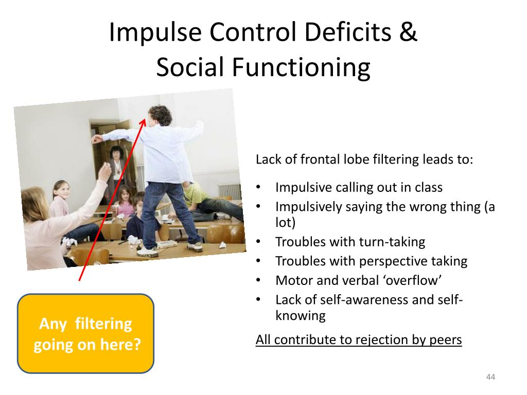 Impulse Control Deficits &