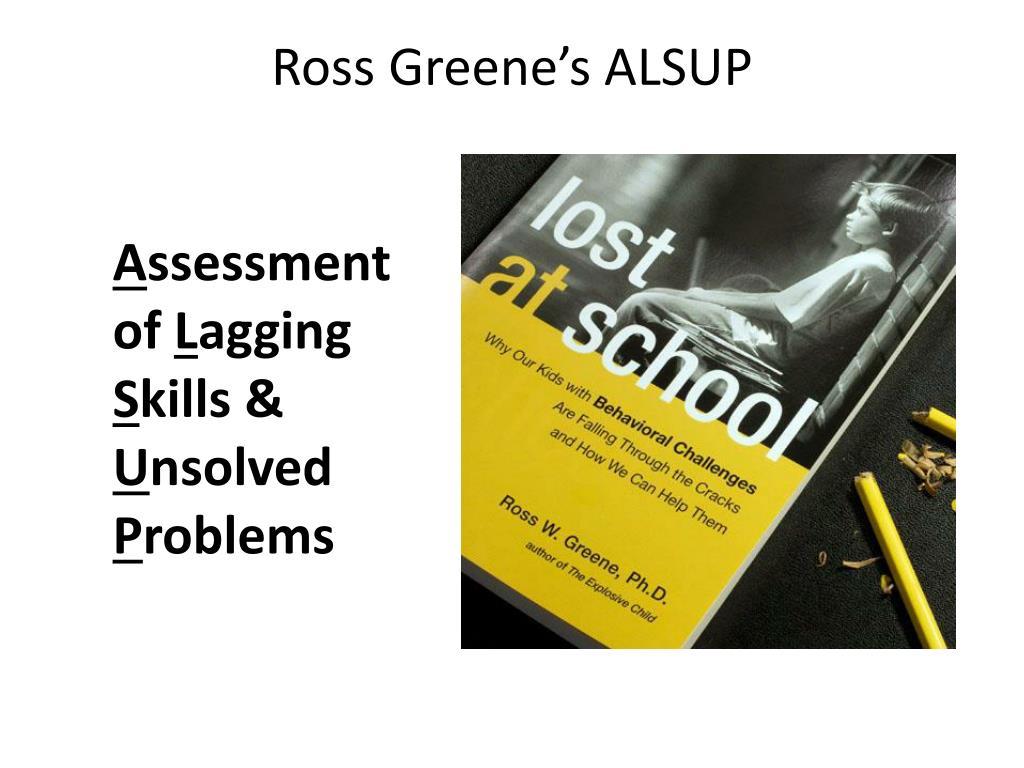 Ross Greene's ALSUP