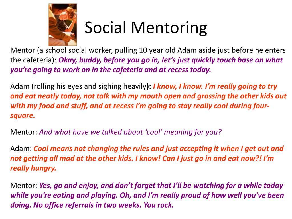 Social Mentoring