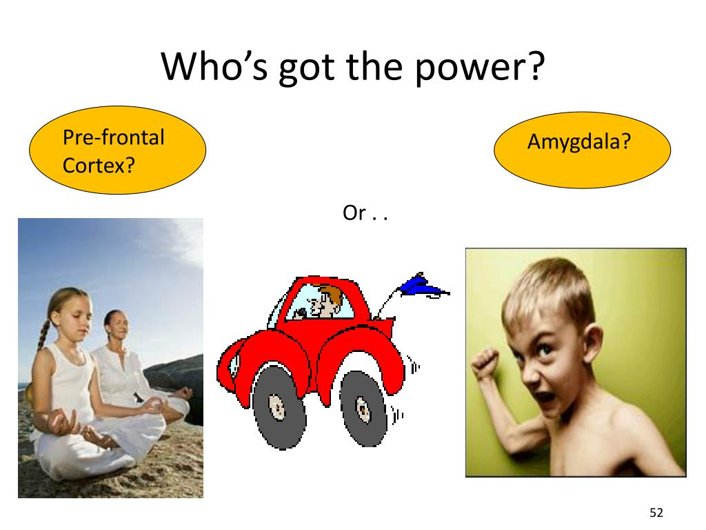 Who's got the power?