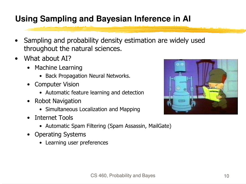 Using Sampling and Bayesian Inference in AI