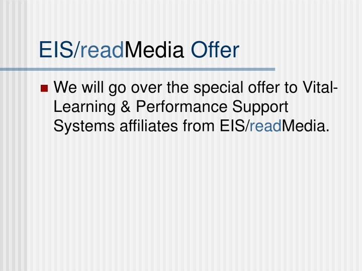 Eis read media offer