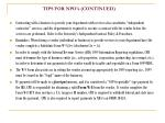 tips for npo s continued22