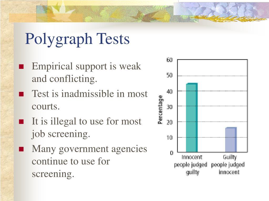 Polygraph Tests