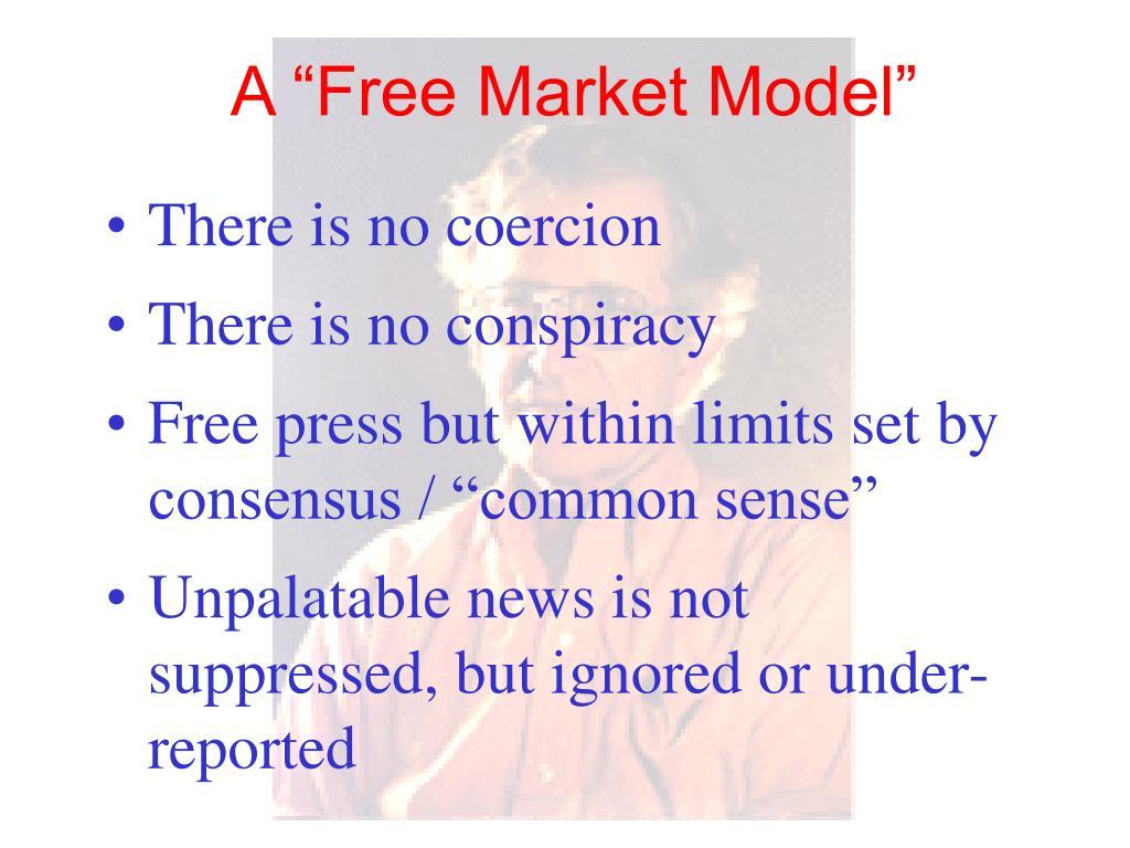 "A ""Free Market Model"""