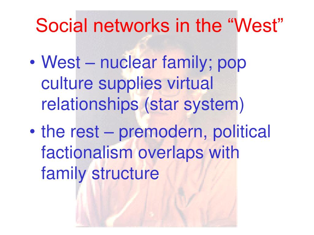 """Social networks in the """"West"""""""