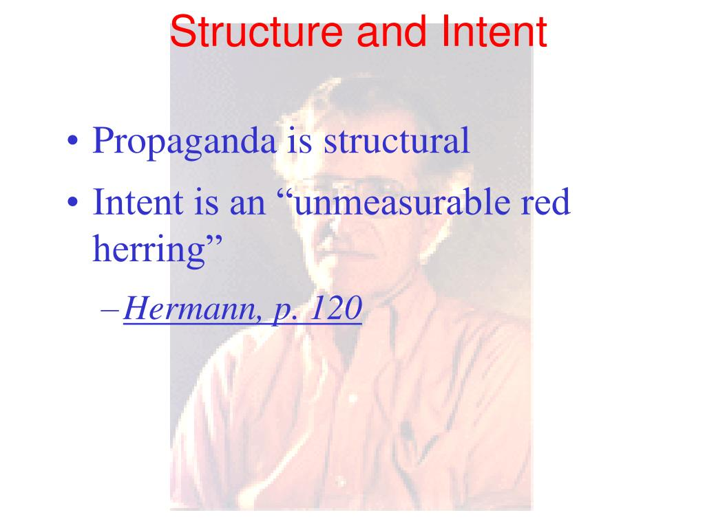 Structure and Intent